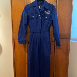Vintage 1960s cheerleading coveralls XXS